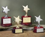 Star with Piano Finish Base Series Achievement Awards