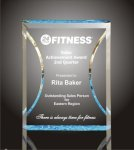Hour Glass Plaque Acrylic Award Sales Awards