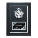 Carbon Fiber Clock Plaque Sales Awards