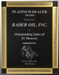 Black Diamonds Acrylic Plaque Award Sales Awards