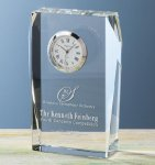 Faceted Fulton Clock Sales Awards