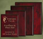 Piano Finish Wood Plaques Sales Awards